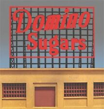 Domino Sugars MILLER ENGINEERING Animated Neon Sign O/HO Scale 88-2401