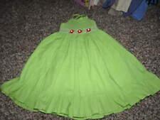 SARAH LOUISE 3 YRS 3T GREEN HAND SMOCKED DRESS GORGEOUS