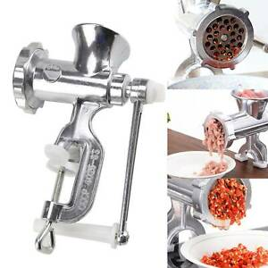 High Quality Kitchen Meat Mincer Grinder Heavy Duty Adjustable Burrs