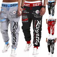 Men Jogger Jogging Sport Pants Casual Baggy Tracksuit Bottom Trousers Sweatpants