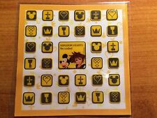 *New* Kingdom Hearts Re:Coded: Promotional Icon Decal Set for Nintendo DS