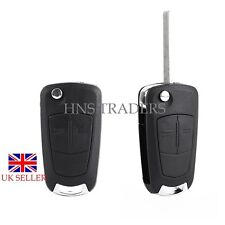 for Vauxhall Opel Corsa Astra Vectra Zafira 2 Button Remote Key Fob Case +LOGO