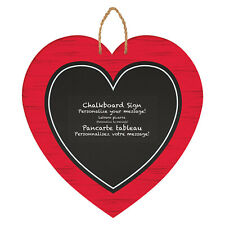 Valentines Day Heart Chalkboard Sign Decoration