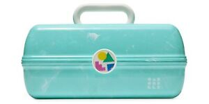 Caboodles On-The-Go Girl Retro Case, Turquoise Marble