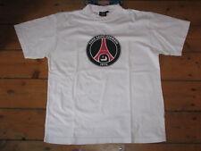 T-SHIRT officiel foot PARIS SAINT GERMAIN PSG vintage 90 football maillot blanc