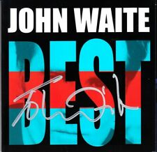 John Waite signed autographed auto BEST Greatest Hits (Missing You) 2014 CD COA