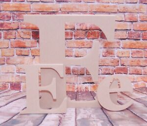 Georgia font MDF letters-Home-Kids-decoration-Craft-Wooden-Home-Kids-Hand Made