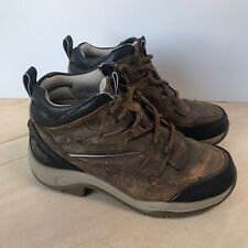 Ariat Lace Up Boots Womens 6.5 B Brown Leather Trail Hiking