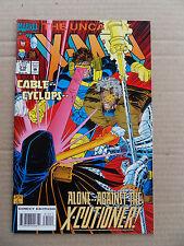 Uncanny X- men 310  . Trading Card Insert - Marvel 1994 -  FN +