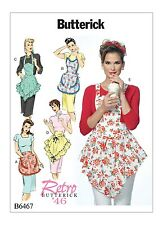 Sewing Pattern! Make Vintage Style 40'S Aprons! Full~Half Styles~4 Sizes~Ruffles