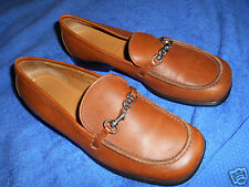 COACH BROWN LOAFER  COMFORT DRIVING SHOES  SIZE 7.5 B   NICE FROM ITALY.!