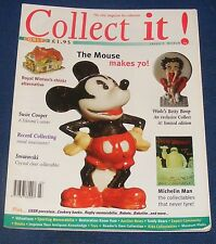 COLLECT IT! ISSUE 9 MARCH 1998 - MICKEY MOUSE/SUSIE COOPER/SWAROVSKI