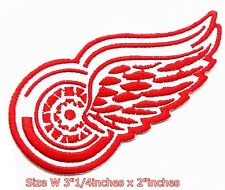 Detroit Red Wings Hockey NHL Sport Patch Logo Embroidery Iron,Sewing on Fabric