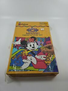 Colorforms Minnie Mouse Dress Up Playset - From Mickey's Stuff for Kids NEW
