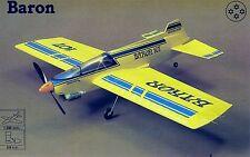 MODELHOB BARON C/L Stunt Modelo plan 2 Hojas