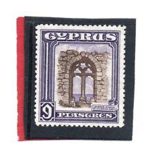 Cyprus GV 1934 9pi. sepia & violet sg 141 HH.Mint. c.£22