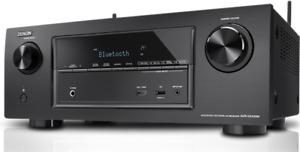 BRAND NEW Denon AVR-X2100W 7.2 Channel Full 4K Ultra HD A/V Receiver Bluetooth