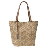 Shopper von TOM TAILOR Denim Mila Caro Handtasche Schultertasche Tasche in Taupe