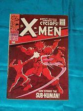 X-MEN # 41, Feb. 1968, Roy Thomas & Don Heck, FINE - VERY FINE Condition