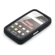 SAMSUNG S5830 Galaxy Ace - Housse Silicone noir