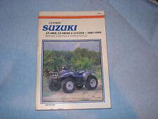 CLYMER SUZUKI 1987-95 LT-4WD LT-4WDX  LT-F250 Service Repair Maintenance Manual