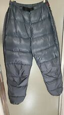 Men's Vintage Western Mountaineering Expedition Down Nylon Pants Size Small
