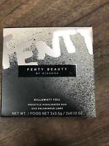 Fenty Beauty Killawatt Foil Highlighter Duo NIB