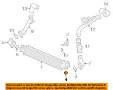 HONDA OEM 17-18 CR-V-Turbo Turbocharger Intercooler Lower Insulator 74172TLAA01