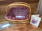 Vintage Longaberger Christmas Collection 1993 Edition Bayberry Basket Complete