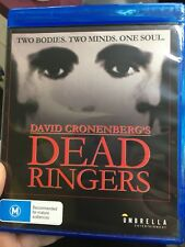 Dead Ringers BLU RAY (1988 David Cronenberg horror movie)