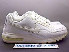 Men's Nike Air Max LTD White Metallic Silver 2012 sz 9.5