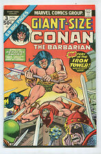 Giant-Size Conan #3- Fury in the Iron Tower! - (7.0) 1975
