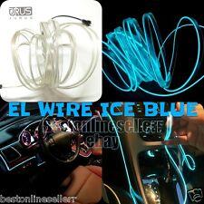 5M Cool Ice blue Car LED EL Wire Neon Light Glow Tube Baleno Ciaz Brezza Swift
