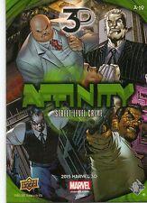 2015 UPPER DECK Marvel 3-D Affinity Lenticular Quad A-19 STREET LEVEL CRIME