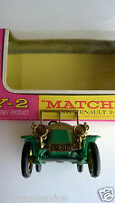 Matchbox Models of Yesteryear Y-2 1911 Renault & original  box  superb condition