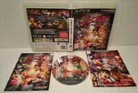 Street Fighter x Tekken PS3 Region Free Français Comme neuf Complet +Mini Comics