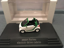 SMART FORTWO electric drive Cabriolet Blanc 451 Busch 1/87