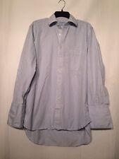 Charles Tyrwhitt Mens Long Sleeve French Cuff Dress Shirt Size 15 1/2-33