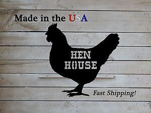 Chicken Coop Sign, Chicken Art, Coop Decor, Metal, Country Decor, Rooster, S1063