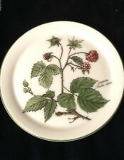 "SELTMANN WEIDEN GERMANY WALDBEERE COASTER 4"" HIMBEERE BERRIES FLOWERS LEAVES"