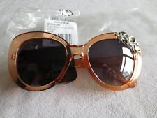 Nordstrom peach crystal sunglasses.