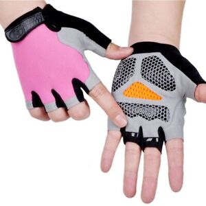 Cycling Glove Bike Glove Bicycle Men Women Half Finger Gel Pad Breathable Sports