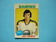 1975/76 O-PEE-CHEE NHL HOCKEY CARD #368 GARY BROMLEY NM SHARP!! 75/76 OPC