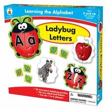 Ladybug Letters/Carson Dellosa/Ages 4 and up/