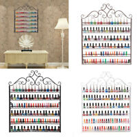 Large 6-Tier Wall Mount Nail Polish Wall Rack Organizer Display Hold 120+ Bottle