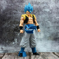 Dragon Ball Super Saiyan God Blue Hair Gogeta PVC Action Figure Toy Gift