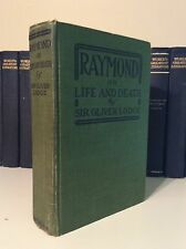 1916 Raymond or Life & Death by Sir Oliver Lodge Communication With Dead People