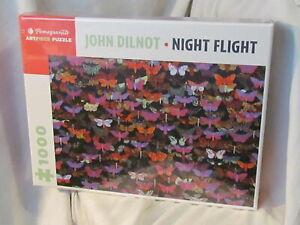 "John Dilnot ""Night Flight"" 1000 Piece Puzzle NEW SEALED!"