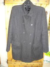 manteau caban gris foncé 2 poches froggy taille 36