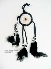 Small Handmade Car Hanging Natural Feather Dream Catcher Decor Traditional #SF